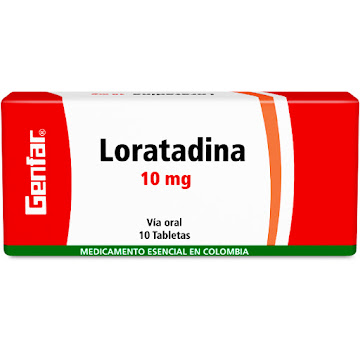 Loratadina Genfar 10Mg