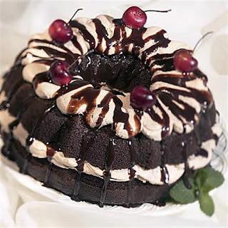 Chocolate Cherry Dessert.