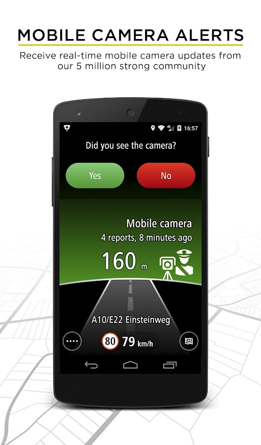 TomTom Speed Cameras- screenshot