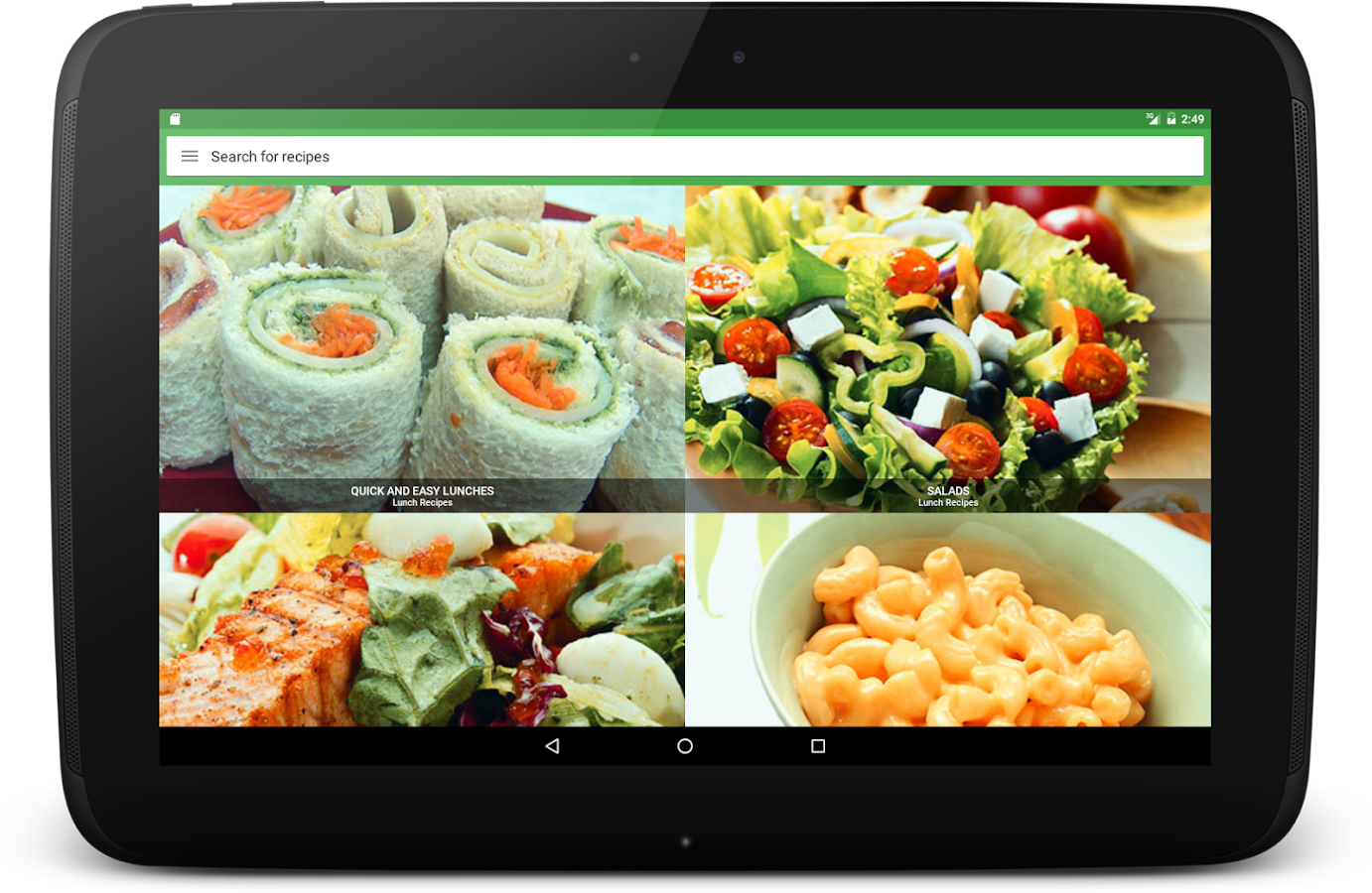 Lunch Recipes- screenshot