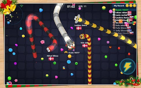 Snake Candy.IO – Multiplayer Snake Slither Game 10