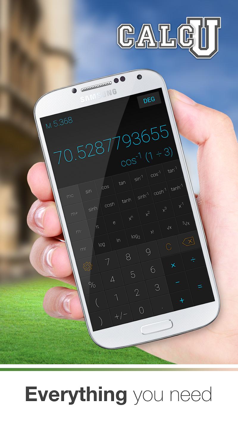 CALCU™ Stylish Calculator Free Screenshot 1