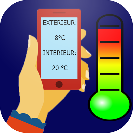 Thermometer inside and outside