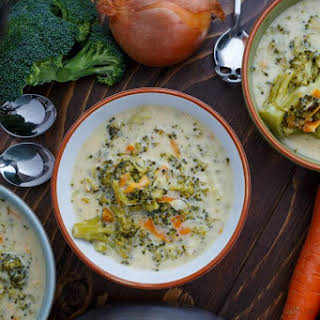 Cream Broccoli Mozzarella Cheese Soup Recipes.