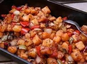 Poor Man's Fried Potato/veggies Recipe