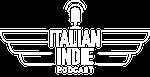 Italian Indie Logo Bianco Trasparente