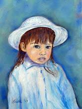 Photo: Girl With A Hat by Loretta Luglio