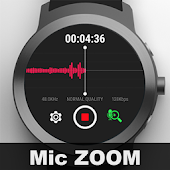 Watch Recorder with Mic. Zoom