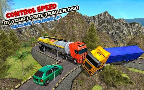 Offroad Cargo Truck – Trailer Transport Sim 2018 - náhled