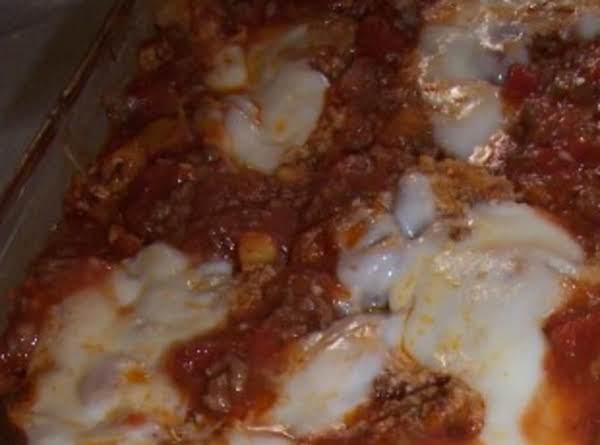 Hamburger Spinach Casserole Recipe