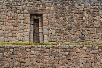 Photo: Original Inca stone wall