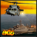 Navy Gunship Air Combat - Sea icon