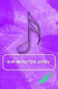 RAP MONSTER Songs - náhled
