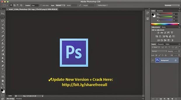 Adobe Photoshop cs6 Crack + Keygen Full Version {Latest}
