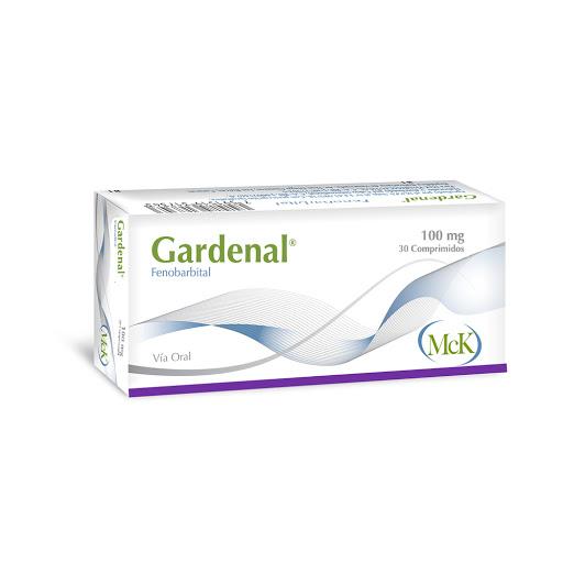Fenobarbital Gardenal 100 mg x 30 Comprimidos