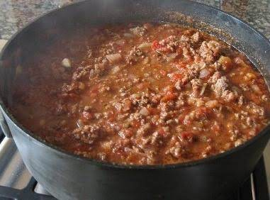 Mom's Hamburger Soup Looks Pretty Much Like This That I Found On The Internet... But Her Has Kidney Beans!