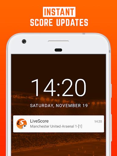 LiveScore: Live Sport Updates 3.0.9 screenshots 3