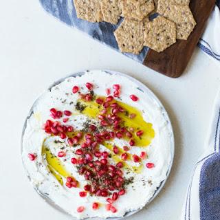 Holiday Yogurt Dip with Pomegranate