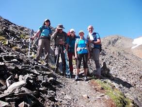 Photo: Sur la dernière portion de Montée nous avons croisé une trés sympathique montagnarde Catalane Janira et son ami en Pere