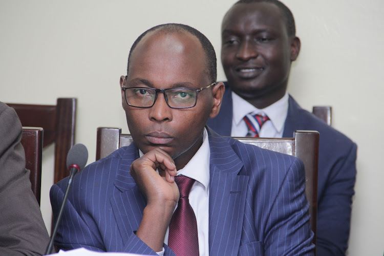 Nairobi County 'Super CEC' and CEC Member for Finance Charles Kerich.