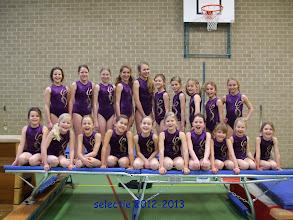 Photo: selectie 2012-2013