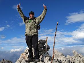 Photo: Ja soc a dalt ! (3056 m.) Al fons a l'esquerra el cim del Tuc de Culebras