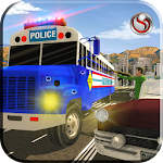 Police Bus Gangster Chase Icon
