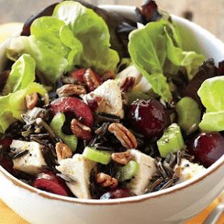 Cherry, Turkey, And Wild Rice Salad.