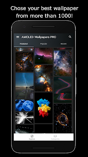 Kolekcja Tapet PREMIUM AMOLED 4K & HD Screenshot