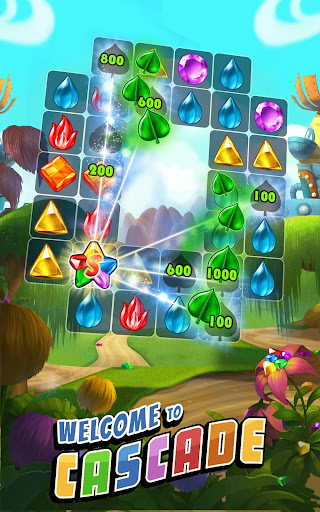Cascade: Jewel Matching Adventure - screenshot