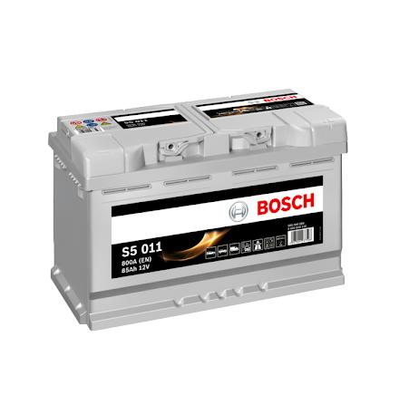 Bilbatteri 12V 85Ah Bosch S5011