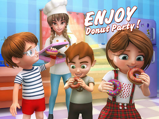 Donut Maker 3d - Sweet Bakery & Cake Shop 1.0 screenshots 12