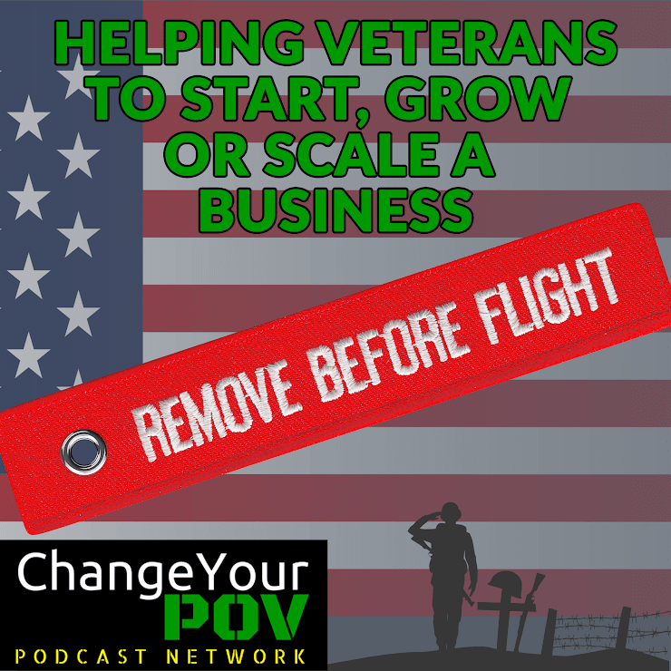 Entrepreneur Kevin Fairbanks brings you the tips and tricks that he has used to drive his own business to success. If you haven't checked out his show, you can find it here: http://changeyourpov.com/cypov-podcast/remove-before-flight