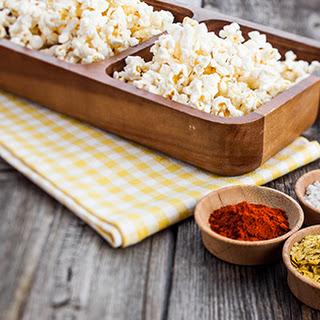 Nutritional Yeast Popcorn.
