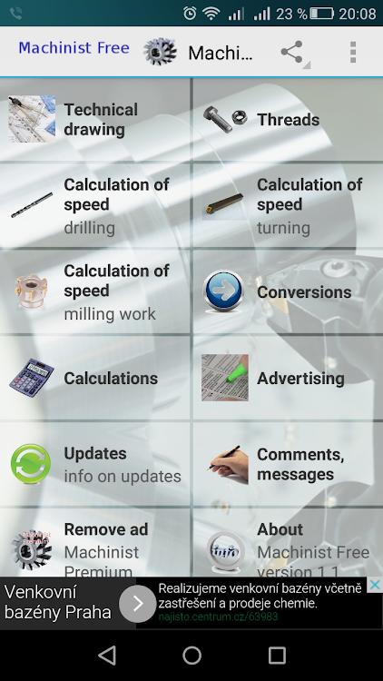 Machinist Free – (Android Aplikace) — AppAgg