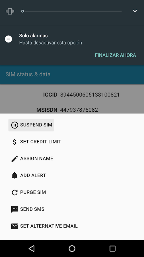 PodM2M Mobile Alerts- screenshot