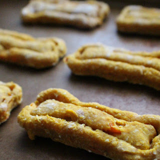 Pumpkin Carrot Dog Treats