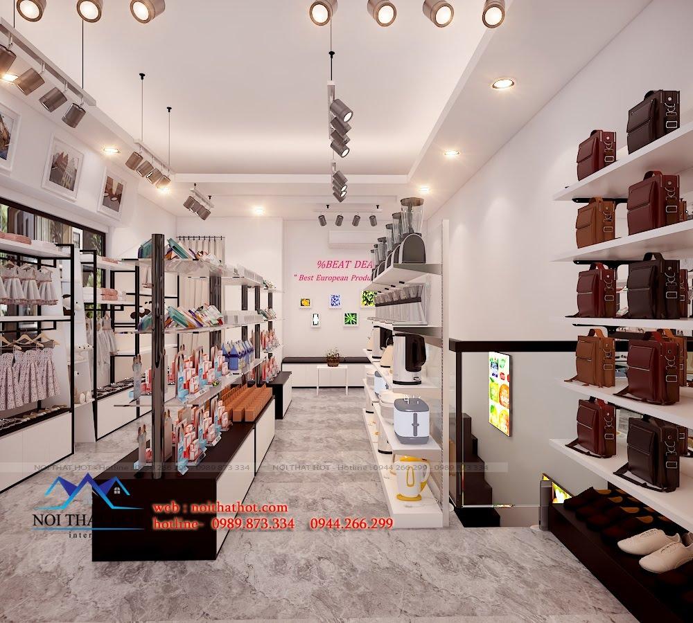 Thiết kế cửa hàng tạp hóa độc đáo