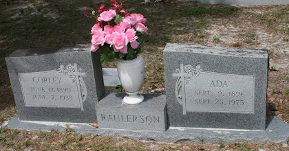 Photo: Corley Herman Raulerson son of Noel Raulerson and Mary Ann Altman and Wife Ada MNU