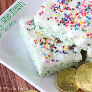 Luck of the Irish Krispie Treats Recipe