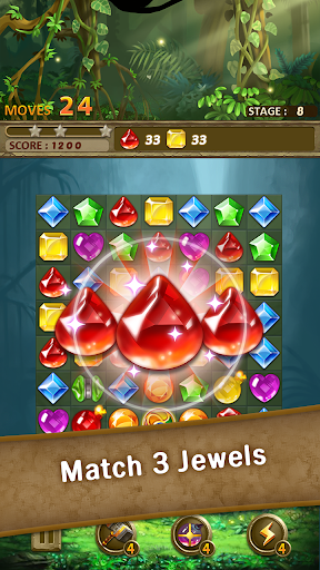 Jewels Jungle : Match 3 Puzzle 1.6.3 screenshots 1