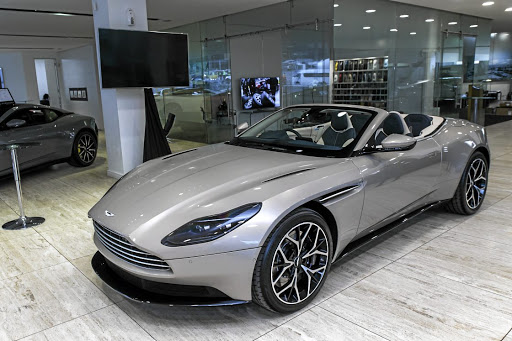 The new Aston Martin DB11 Volante