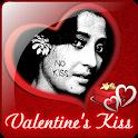Valentine's Kiss LWP icon