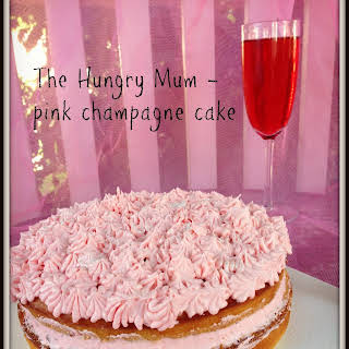 Pink Champagne Cake From Scratch.