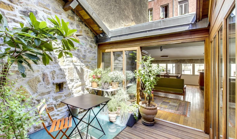 Maison avec terrasse Lyon 1er
