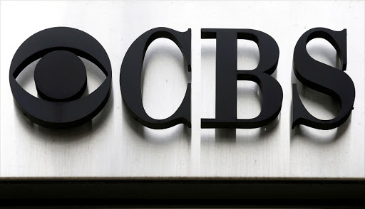 The CBS logo outside the CBS Broadcast Center in New York, the US. Picture: REUTERS/BRENDAN MCDERMID