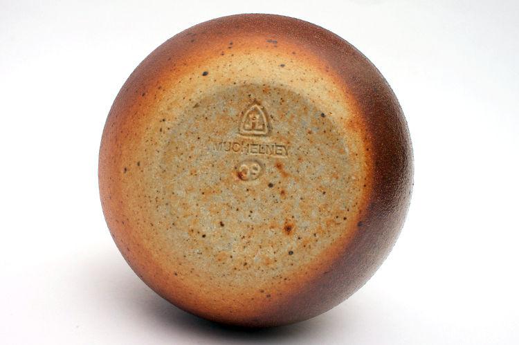 John Leach Ceramic Wood Fired Bottle