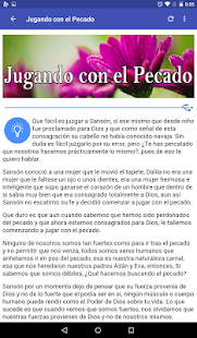 Devocional Cristiano Diario Screenshot