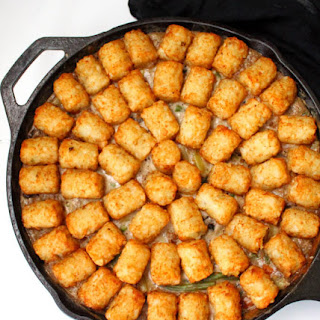 One-Pot Vegan Tater Tot Casserole.