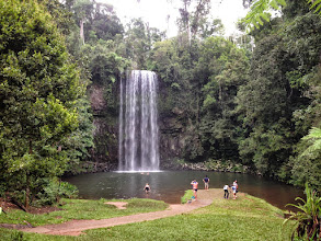 Photo: Millaa Millaa Falls QLD Great spot for a swim time 1650hrs